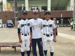 OB高校夏季総体観戦